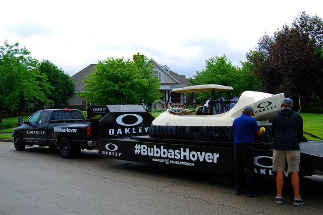 Bubba's Hover featured at OneSight fundraiser at Ohio's Heritage Club and Four Bridges Country Club