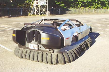 Images DeLorean hovercraft kit