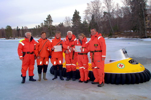 completed hovercraft training session
