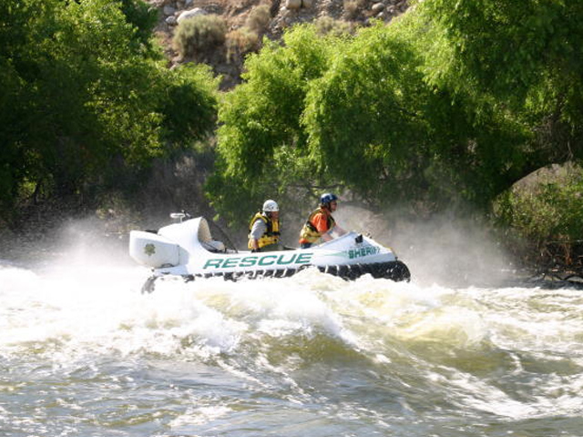 Neoteric Rescue Hovercraft Model 3626 Swift Water Rescue