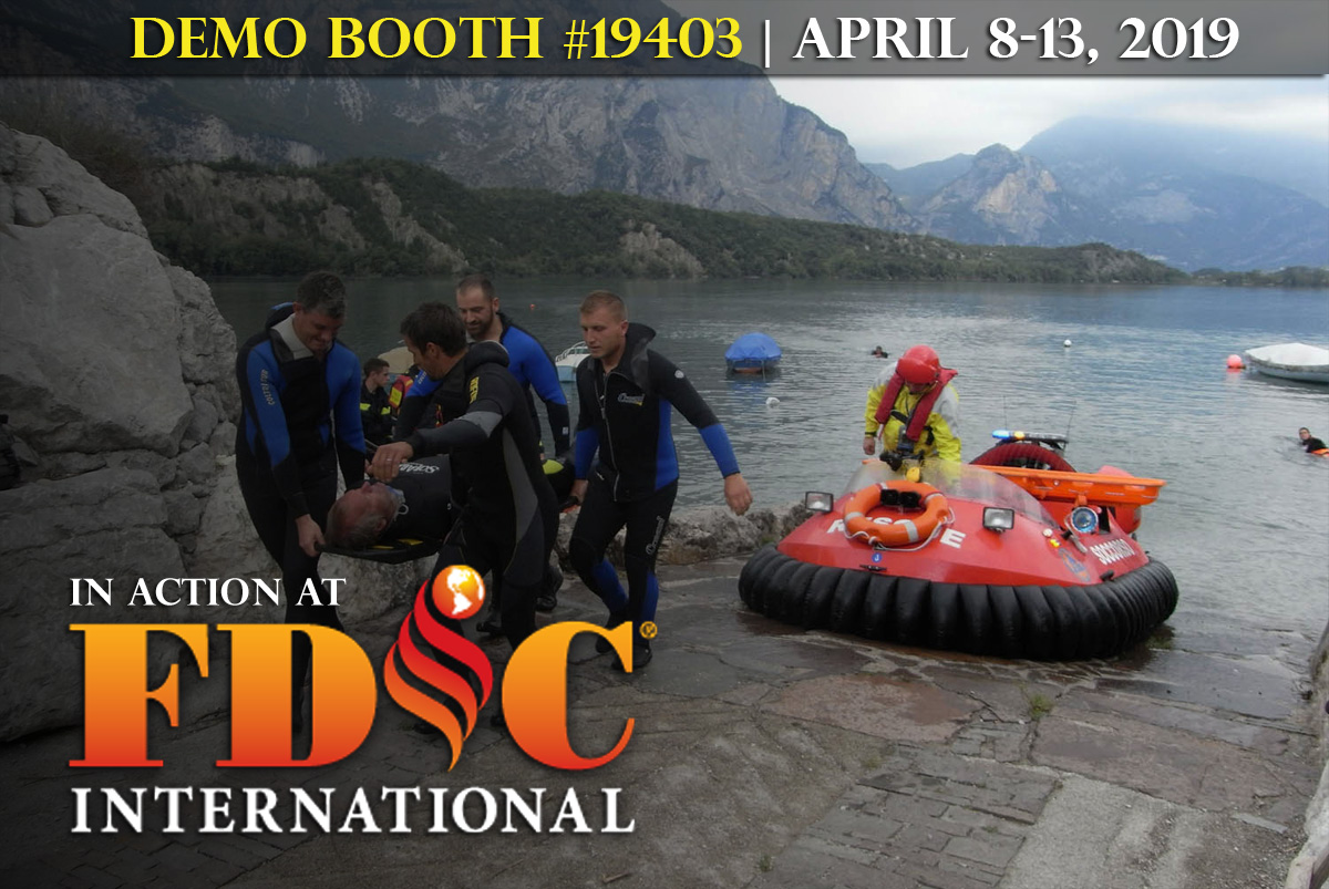 Demo Booth #19403 at the 2019 FDIC International in Indianapolis-Neoteric Hovercraft