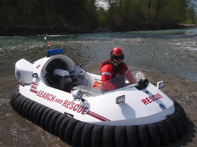 Neoteric Rescue Hovercraft Model 3626 River Rescue